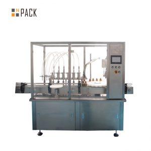 Hot menjual botol Otomatis 2 nozzle mengisi mesin ramuan bunga botol minyak Mengisi Mesin Capping