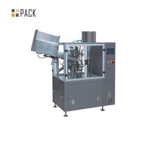 Mesin pengisi tabung kapasitas tinggi untuk krim plastik kosmetik