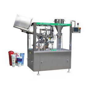 Otomatis mengisi tabung salep kulit lembut dan mesin penyegel