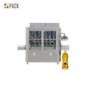 Cairan horisontal otomatis dan mesin pengisian minyak goreng