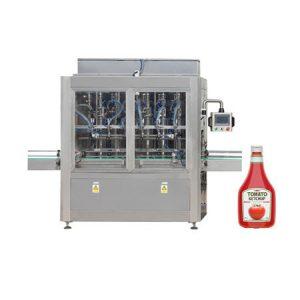 Mesin pengisi pasta untuk pasta tomat, krim kosmetik