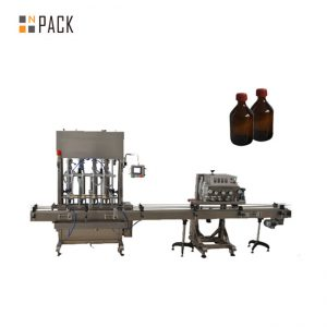 Akurasi Tinggi Otomatis mesin pengisian minyak pelumas / minyak pelumas