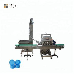 Mesin capping rotary otomatis untuk botol medis