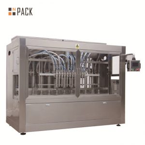 Otomatis 8 mengisi nozel cair / pasta / saus / mesin pengisian madu