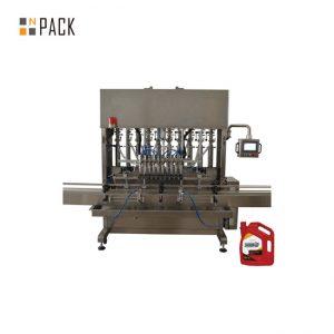 Kualitas tinggi penuh otomatis botol pasta tomat kecil mengisi mesin pelabelan capping untuk botol kaca