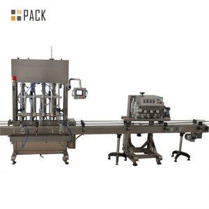 stainless steel saus bumbu bahan kimia pertanian minyak sayur mengisi mesin