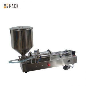 Mesin pembuat es krim yang sangat populer / mesin pengisian kepala ganda / mesin pengisi cat kuku