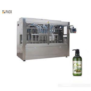 Mesin pengisian sampo tangan mandi botol otomatis lengkap