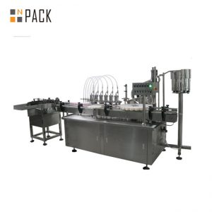 Mesin Pengisian Digital Liquid & Cream Multi-kepala Otomatis